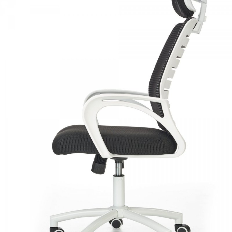 Fotel biurowy SOCKET biało-czarny