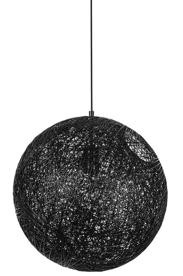Lampa wisząca LUNA 80 czarna