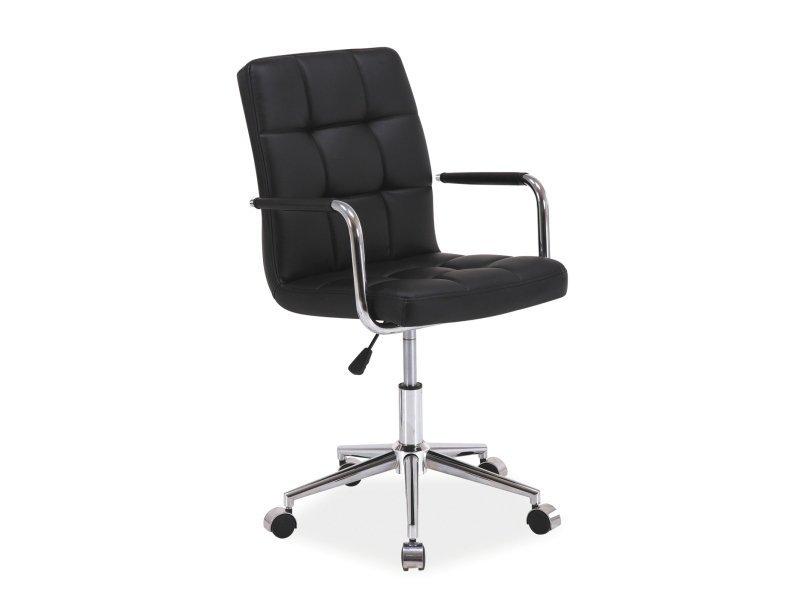 Fotel obrotowy Q022 czarny
