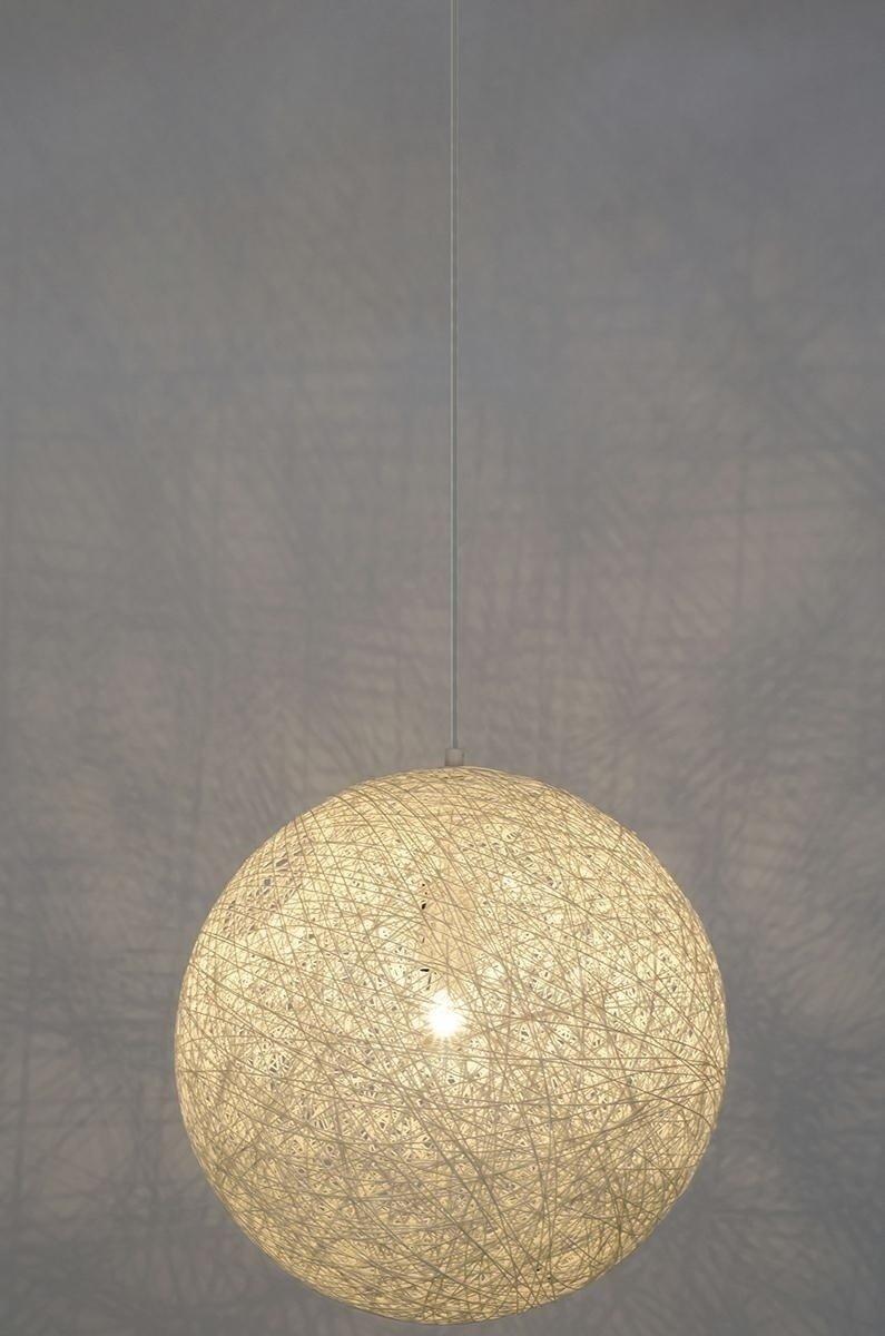 Lampa wisząca LUNA 110 biała