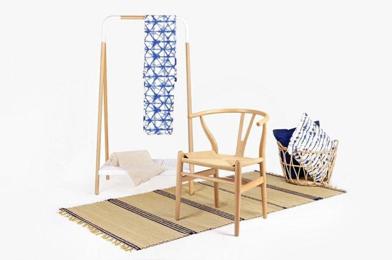Krzesło WISHBONE buk/naturalne