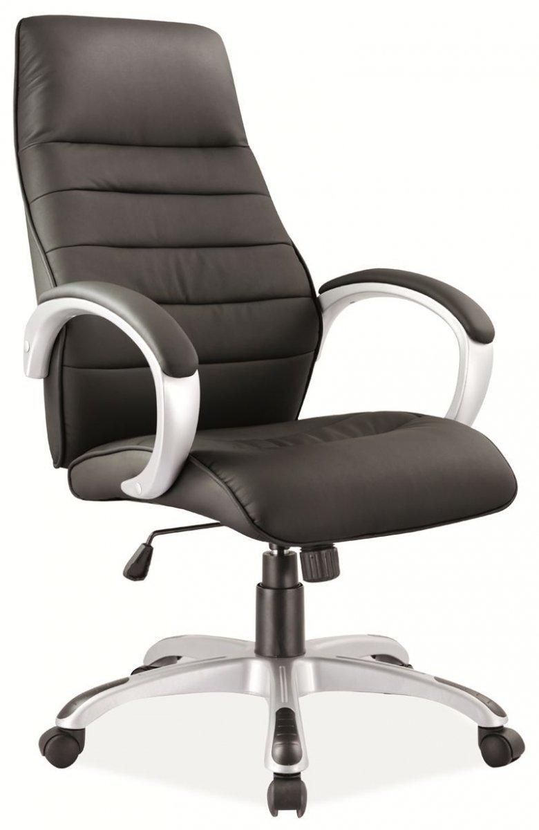 Fotel obrotowy Q-046 czarny