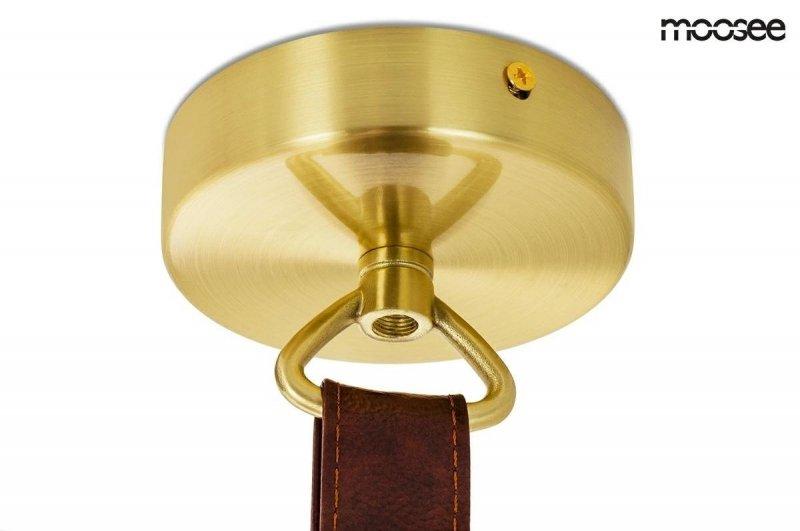 Lampa wisząca LUPE LEVEL złota-czarna