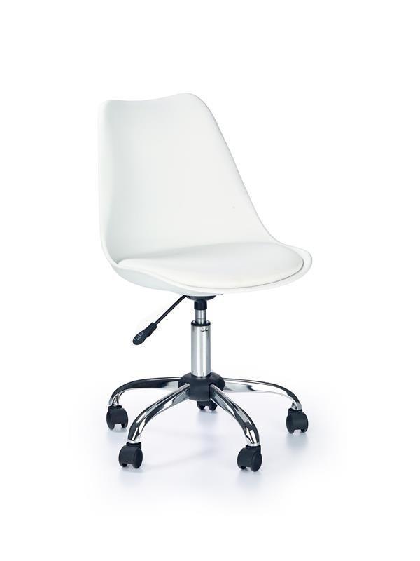 Fotel młodzieżowy COCO biały