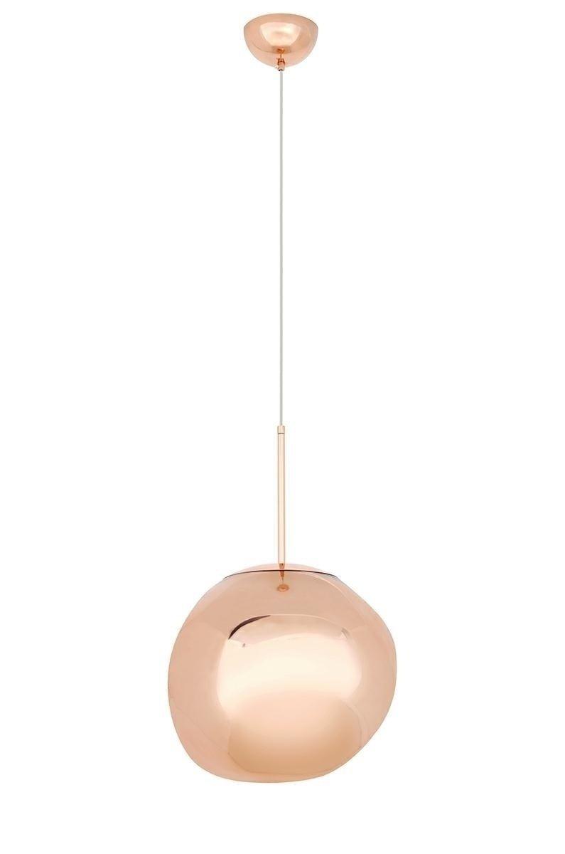 Lampa wisząca FUSION 30 miedziana/akryl