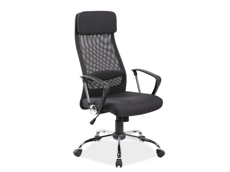 Fotel obrotowy Q345 czarny
