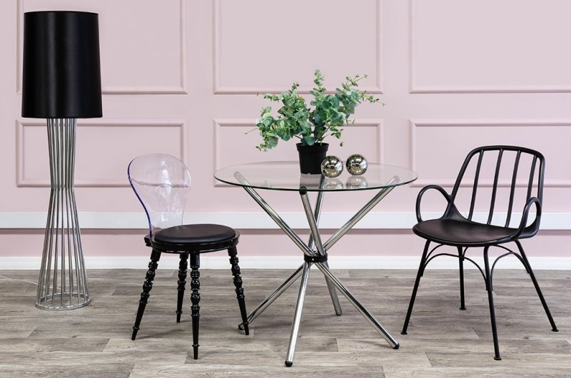 Krzesło SLIP czarne
