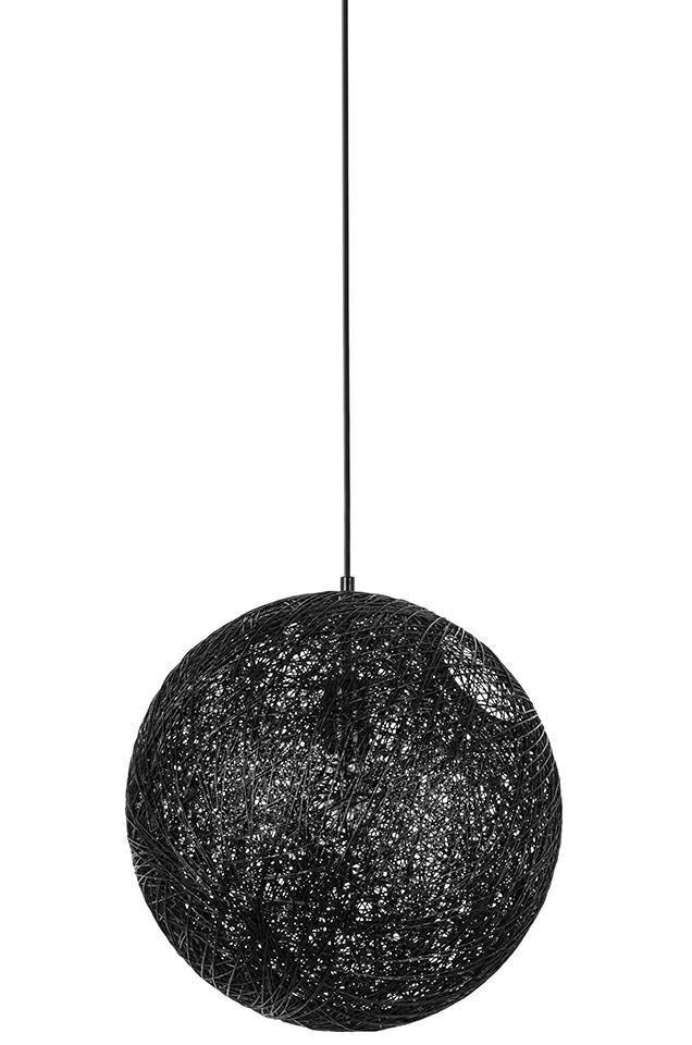 Lampa wisząca LUNA 40 czarna