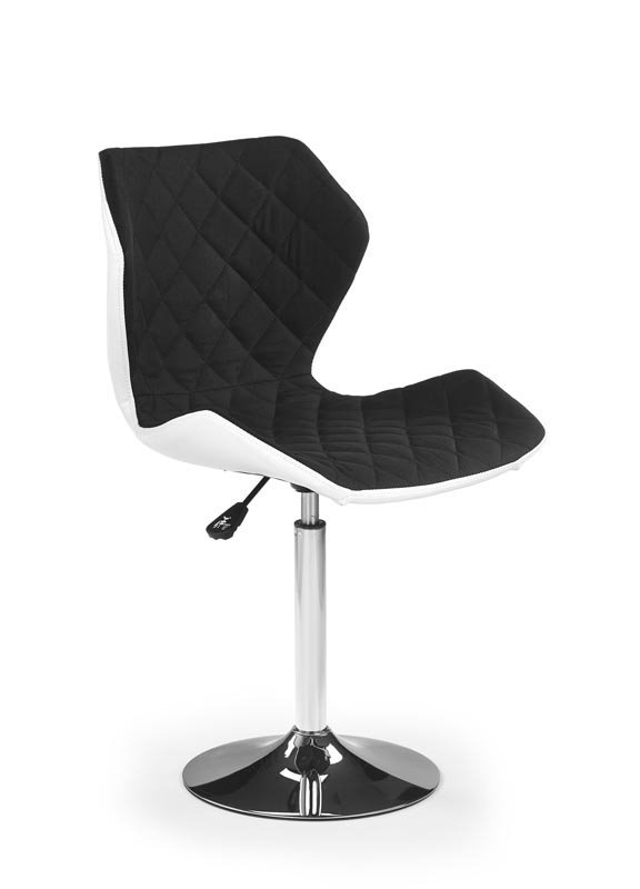 Fotel młodzieżowy MATRIX 2 biały/czarny
