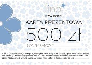 Karta prezentowa 500