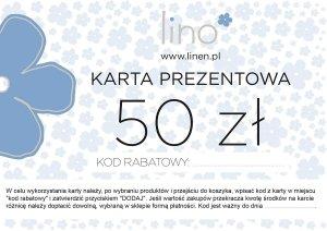 Karta prezentowa 50