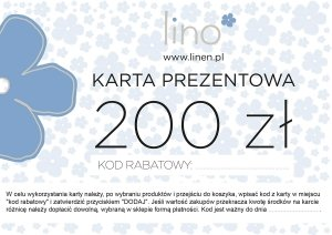 Karta prezentowa 200