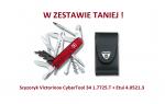 Scyzoryk Victorinox CyberTool 34 1.7725.T + w zestawie z etui