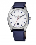 Zegarek NOWUS Gent, SST, silver, blue WAT.0541.1001