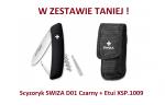 Scyzoryk SWIZA D01 Czarny KNI.0010.1010 + Etui XSP.1009