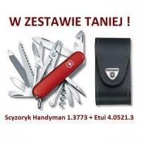 Victorinox Scyzoryk Handyman 1.3773 + Etui 4.0521.3