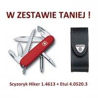 Victorinox Scyzoryk Hiker 1.4613 + Etui 4.0520.3