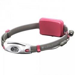 Latarka czołowa Ledlenser NEO6R Pink 500920