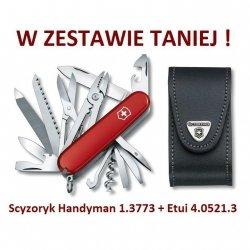 Victorinox Scyzoryk Handyman 1.3773 w zestawie z etui