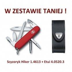 Victorinox Scyzoryk Hiker 1.4613 w zestawie z etui