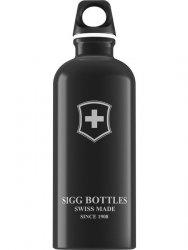 Butelka SIGG Swiss Emblem Black 0.6L 8319.70