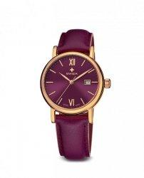 Zegarek damski ALZA Lady, YG, violet, violet, small WAT.0121.1301