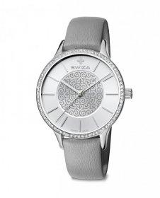 Zegarek damski STELLA, SST, silver, grey WAT.0631.1005