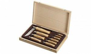 Zestaw noży Opinel Inox skrzynia No 02-12 001311