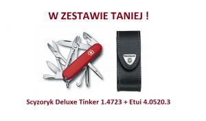 Scyzoryk Victorinox Deluxe Tinker 1.4723 w zestawie z etui