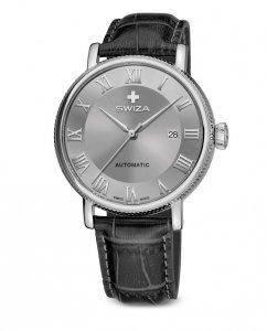 Zegarek SWIZA Alza AUTO SST grey-grey WAT.0156.1003