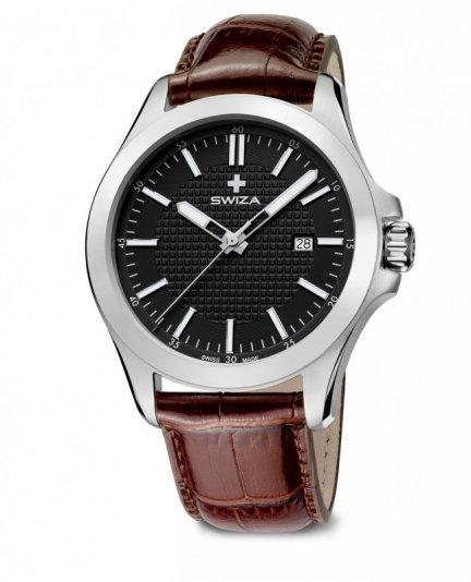 zegarek URBANUS, SST, black, brown WAT.0761.1002