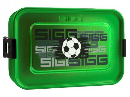 LunchBox Metal Food Box SIGG Plus S Football 8591.80