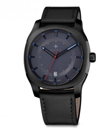 Zegarek SWIZA Nowus Gent SST grey-black-black WAT.0541.1202