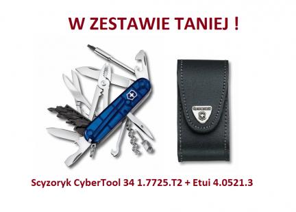 Scyzoryk Victorinox CyberTool 34 1.7725.T2 w zestawie z etui