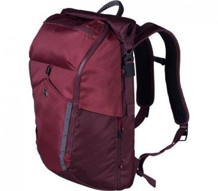 Plecak na Laptopa Deluxe Rolltop, Bordowy 602138