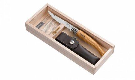 Nóż Składany Opinel Slim No 10 - etui, opakowanie GRAWER GRATIS