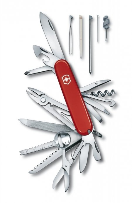 Scyzoryk Victorinox SwissChamp 1.6795 GRAWER GRATIS !