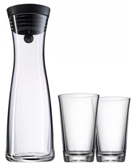 WMF - Karafka + 2 szklanki, Basic