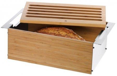 WMF - Chlebak z deską do krojenia i tacką Gourmet