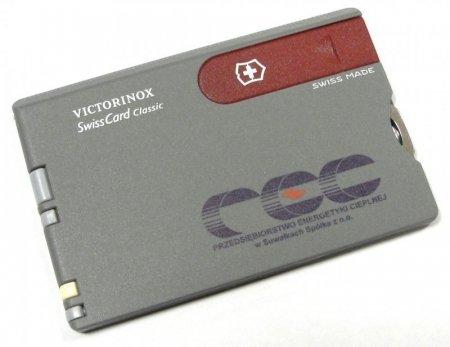Nadruk na produktach Victorinox - logo wielo-kolorowe