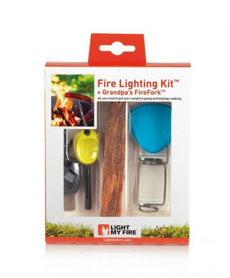 Zestaw FireLighting Kit Green/Black LIGHT MY FIRE 50674740