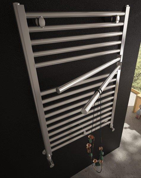 Grzejnik Krom Dynamic 780x524 aluminium lux moc 382W