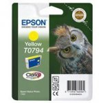 Tusz  Epson  T0794  do Stylus Photo 1400/1500W/P50/PX660 | 11,1ml | yellow