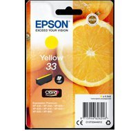 Tusz Epson Yellow Claria T33 singlepack