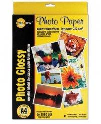 Papier foto Yellow One A4 130g A20 błysz. (4G130) (xpk1140)