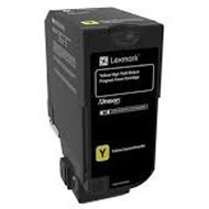Kaseta z tonerem Lexmark do CS725de/CS725dte | zwrotny | 12 000 str. | yellow