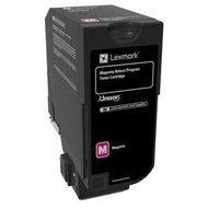 Kaseta z tonerem Lexmark 74C20M0 do CS720/CS725 | zwrotny | 3 000 str. | magenta