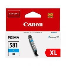Tusz Canon CLI-581C XL do  Pixma TR7550/TR8550/TS6150 | 8,3ml | cyan