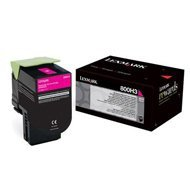 Kaseta z tonerem Lexmark 800H3 do CX410 | 3 000 str. | MAGENTA