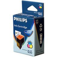Tusz Philips do faksu MF-JET405/440/500/505 | 500 str. | CMY
